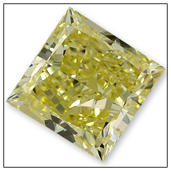 090 Carat Fancy Yellow Diamond