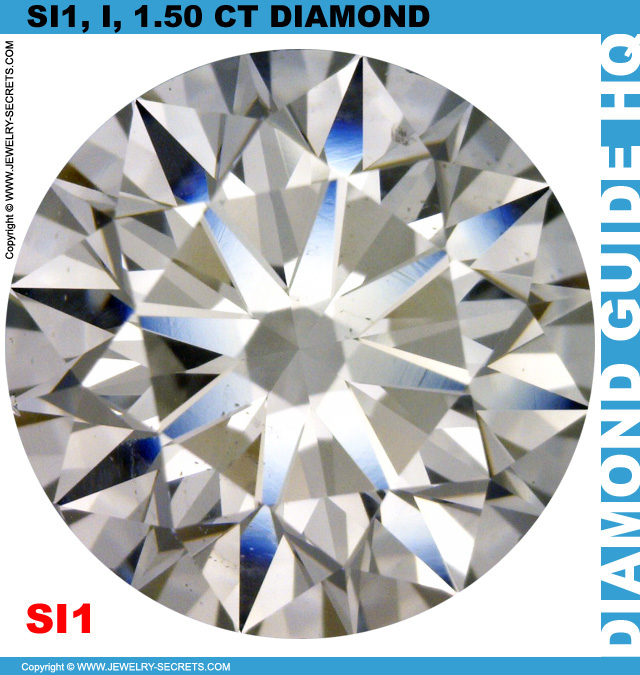 1.50 Carat SI1 I Good Cut Diamond