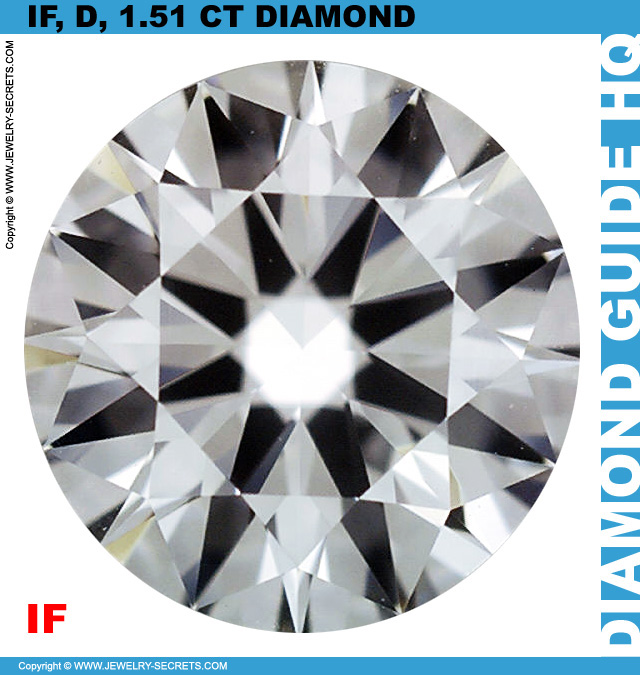 1.51 Carat IF D Premium Cut Diamond