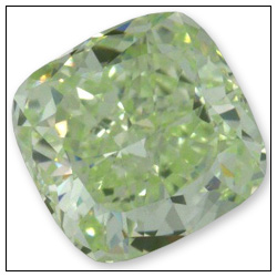 104 Carat Fancy Intense Yellowish Green Diamond
