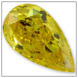 105 Carat Fancy Vivid Yellow Diamond