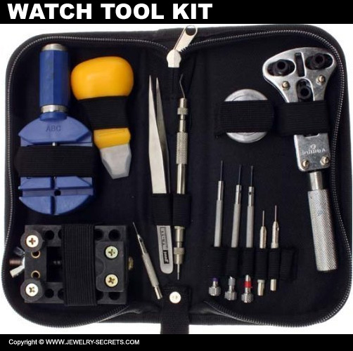 13 Piece Watch Tool Kit
