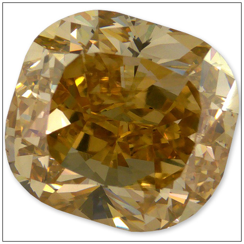 147 Carat Fancy Brownish Yellow Diamond