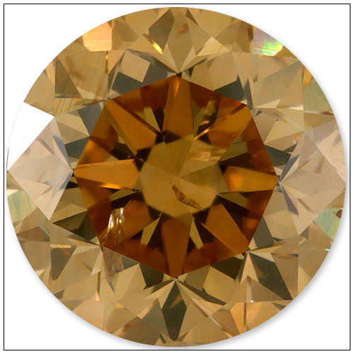 150 Carat Fancy Brownish Orange Yellow Diamond