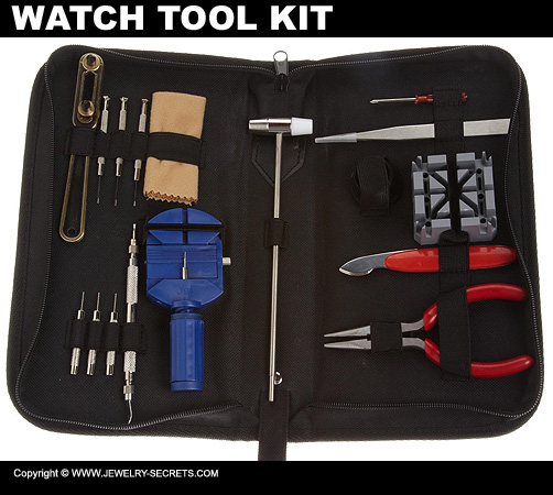 17 Piece Watch Tool Kit