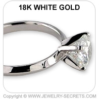 18k Tiffany Engagement Ring