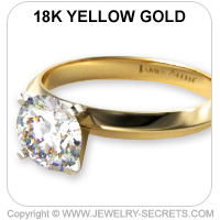 Yellow Gold Tiffany Ring
