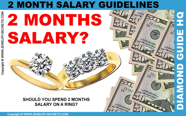 2 Month Salary Diamond Engagement Ring Guidelines