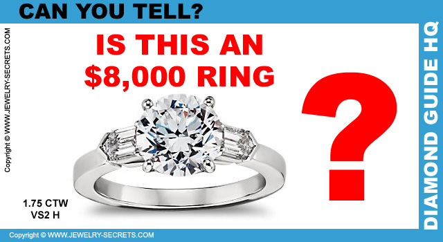 WHAT DOES AN $8 000 DIAMOND RING LOOK LIKE – Jewelry Secrets