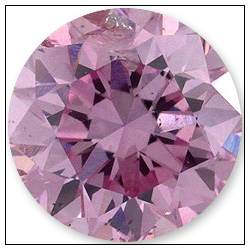 92 Point Fancy Intense Purple Pink Diamond