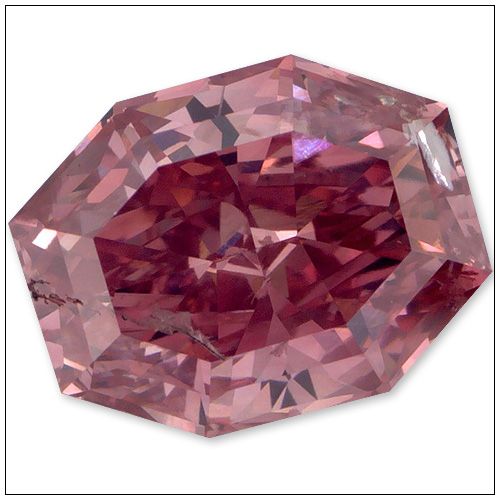 95 Point Fancy Vivid Purplish Pink Diamond