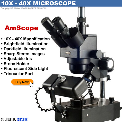 AmScope 10x 40x Jewelers Microscope