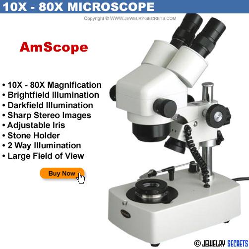 AmScope 10x 80x Jewelers Microscope
