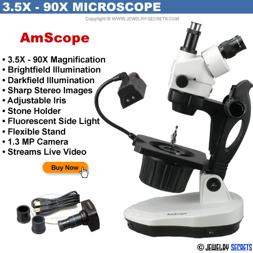 AmScope Professional Jewelers Camera Video Microscope