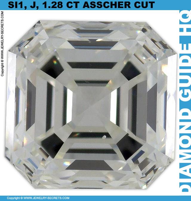 Big Asscher Cut Diamond Great Deal