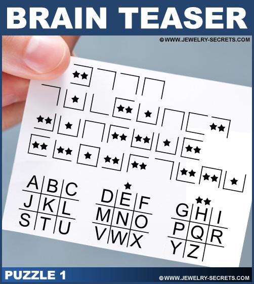 Brain Teaser Puzzle 1