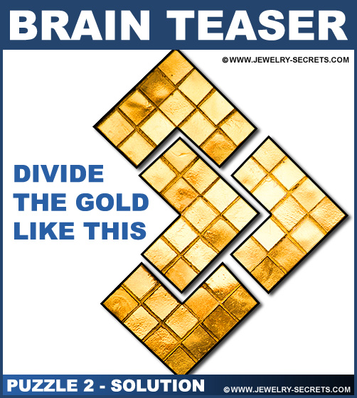 Brain Teaser Puzzle 2 Solution