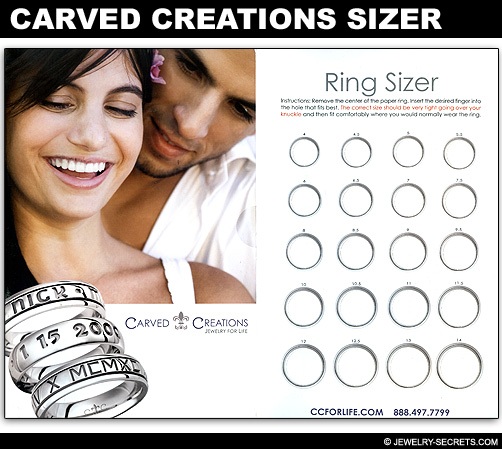 Carved Creations Ring Sizer