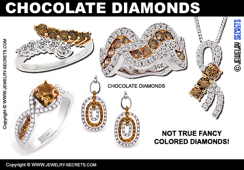 Chocolate Color Diamonds