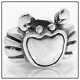 Crab Charm Bead