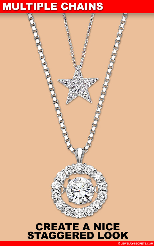 Create A Staggered Look With Multiple Pendant Chains