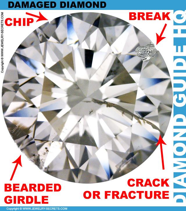 Damaged Broken Diamond