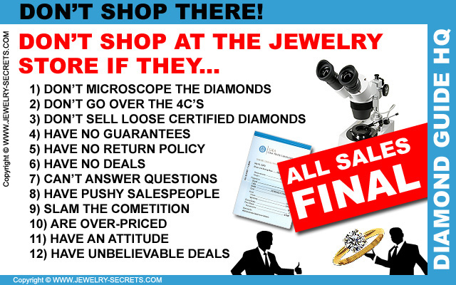 Don't Shop at that Jewelry Store!