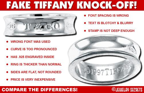 Fake Tiffany Ring