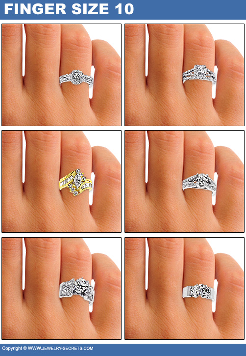 HOW BIG WILL THE DIAMOND LOOK ON HER FINGER Jewelry Secrets