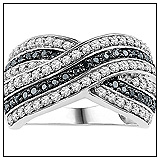 Fred Meyer Black Diamond Ring