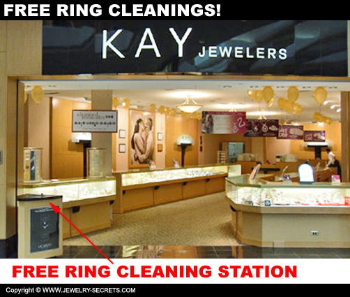Free Ring Cleaning Stations