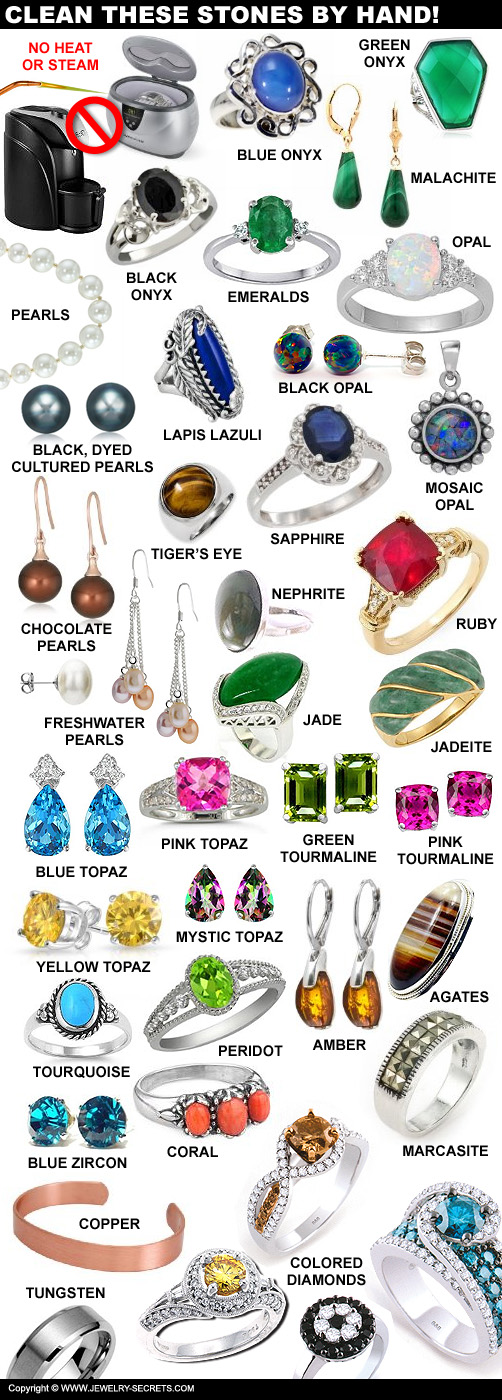 Gemstone Care And Cleaning Guide
