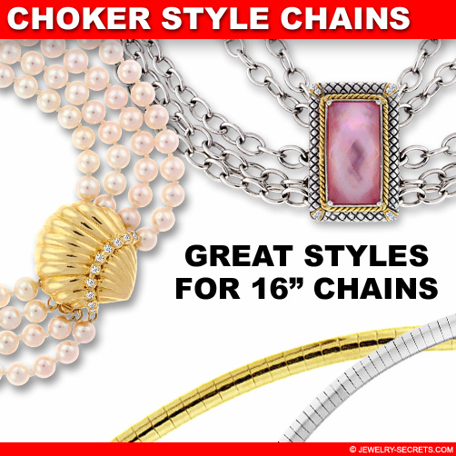 Great 16 Inch Choker Chains