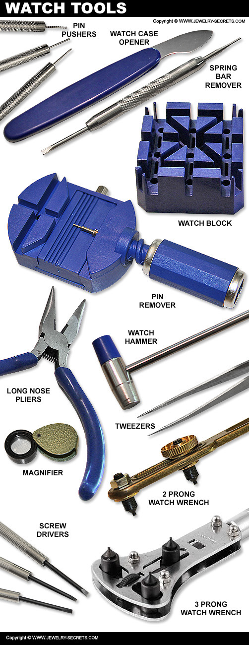 Great Watch Repair Tools