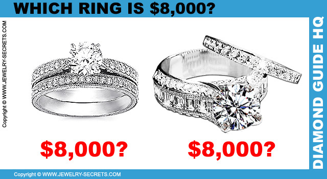 Your unfor table wedding Engagement rings for $8000
