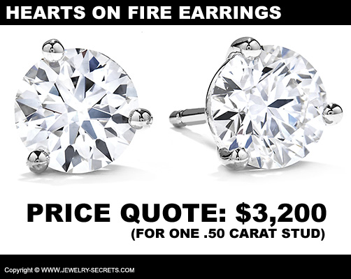 Hearts On Fire Diamond Studs