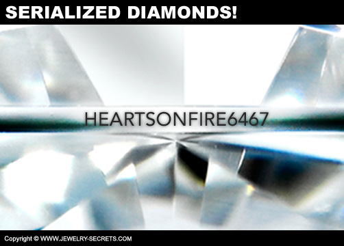 Hearts On Fire Serialized Diamonds