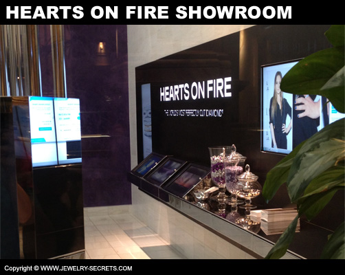 Hearts On Fire Showroom