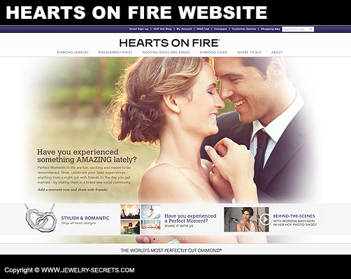 Hearts On Fire Website