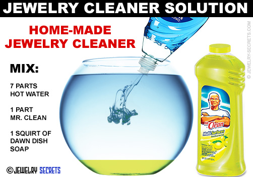 homemade jewelry cleaner solution jewelry secrets