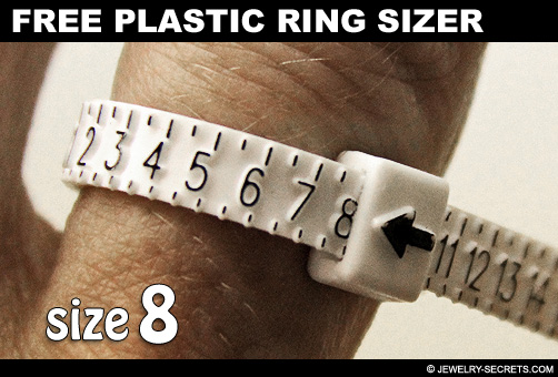 How To Use A Plastic Ring Sizer