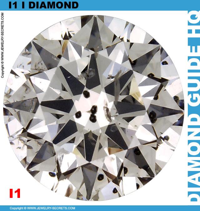 I1 I Round Brilliant Diamond