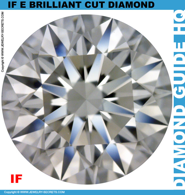 IF E Brilliant Cut Diamond