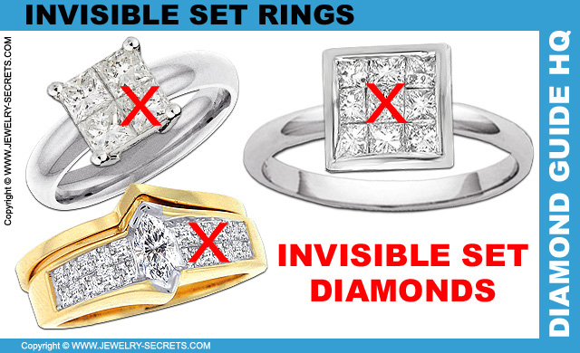 Dont Buy Invisible Set Diamond Rings