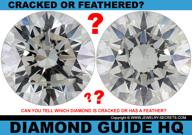 Is The Diamond Cracked Or Is It A Feather