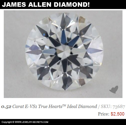 James Allen Half Carat Diamond