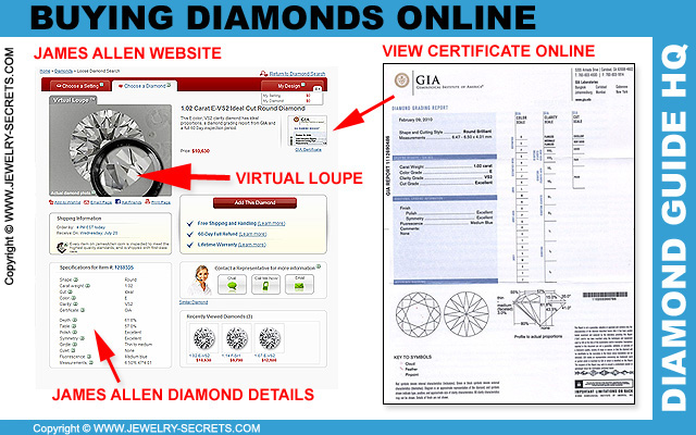 James Allen Diamond Search