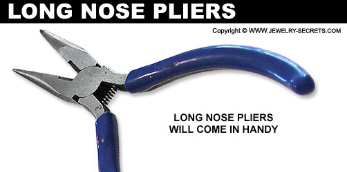 Jewelers Long Nose Pliers