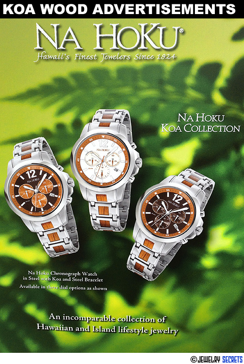 Koa Wood Advertisements