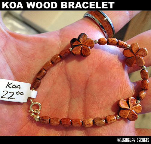 Cheap Koa Wood Bracelet